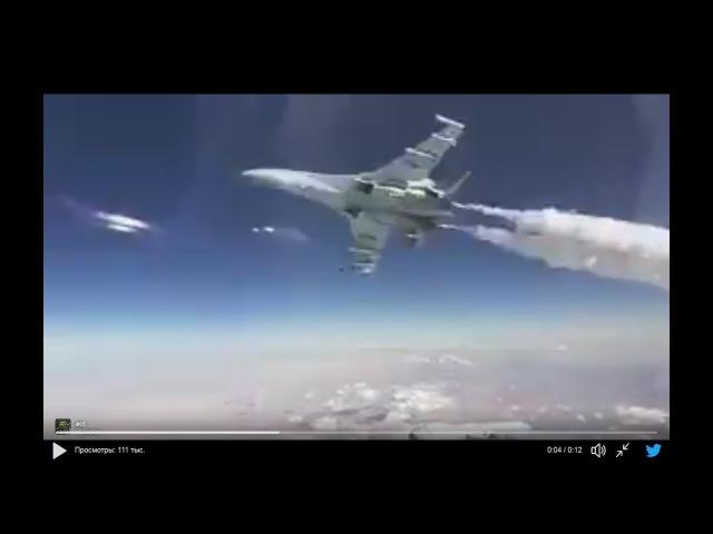✔ Потрясенные американцы удивлены «сумасшедшим» трюком Су-35
