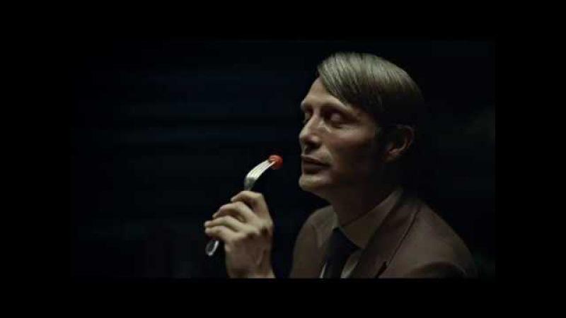 Hannibal lecter eating