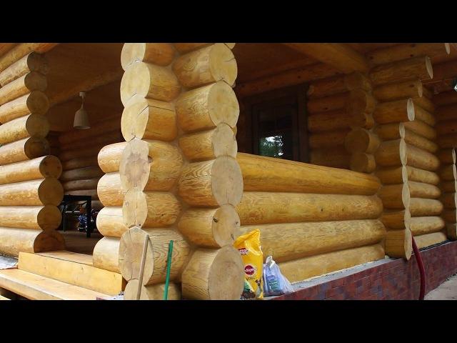 Проект строительства деревянных домов. Строители
