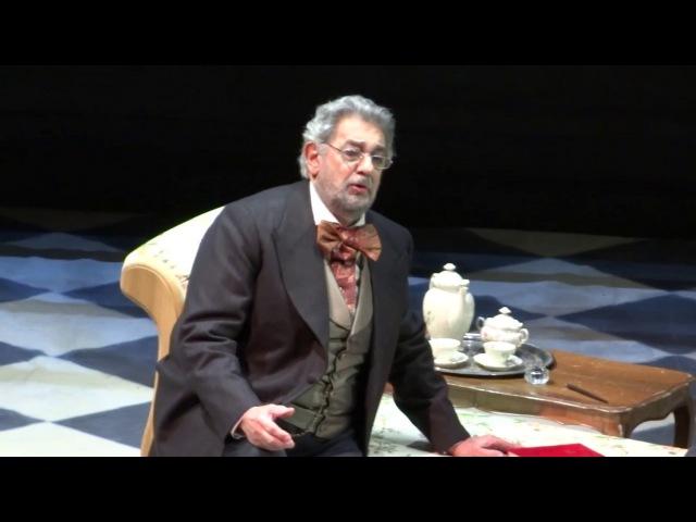 Placido Domingo - La Traviata: Di Provenza il mar, il suol (Valencia 21.02.17)