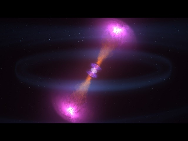 Doomed Neutron Stars Create Blast of Light and Gravitational Waves