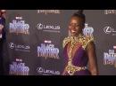 Angela Bassett Lupita Nyong'o Chadwick Boseman and More at the 'Black Panther' Premiere