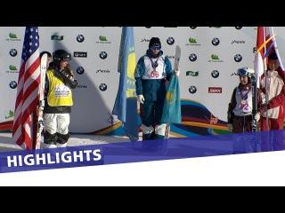 Yulia Galysheva grabs her career's third Moguls win on day 2 in Thaiwoo | Highlights