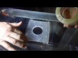 Делаем самп из старого аквариума, сверление отверстия в стекле, самп своими рука...