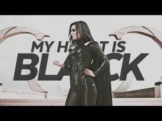 my heart is black | thor ragnarok: hela