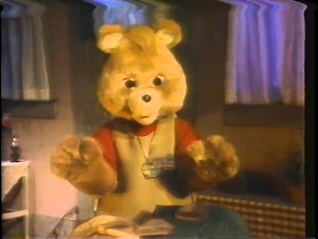 Escape From The Treacherous Mountains video extras Teddy Ruxpin