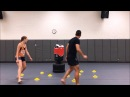 4 Taekwondo HeavyBag Footwork and Movement Drills