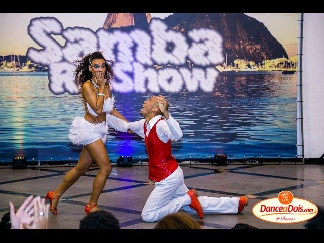 SAMBARIOSHOW - FINAL - Samba de Gafieira - Tradicional - Gustavo Reis e Julianna Lima - Improviso