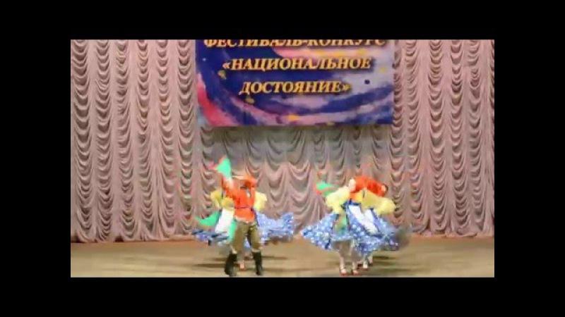 Ансамбль Лебедушки - танец Узелки (Ростов-на-Дону, 05.12.2015)