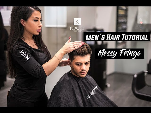Soft fade x Messy Fringe Tutorial | Men's Hairstyles 2018