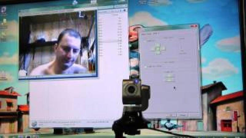 поворотное устройство с пультом Genius iLook 325T веб камера