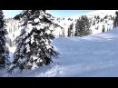 Ергаки, катание на сноуборде, фрирайд