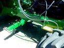 Гусеничный трактор ДТ.75 на колесом ходу