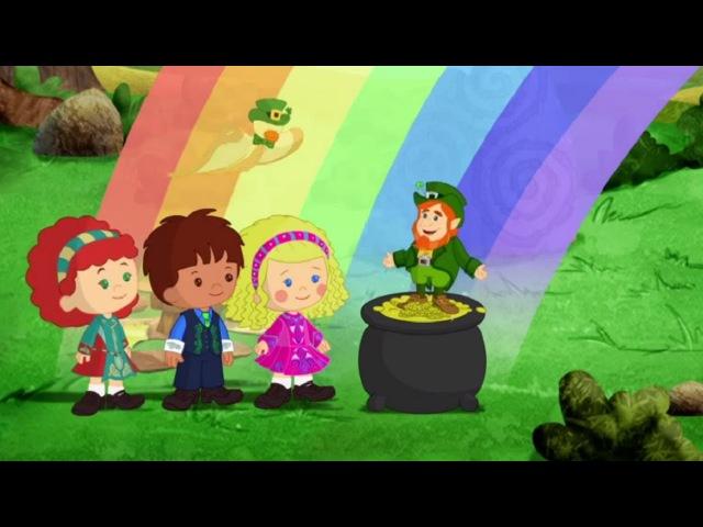 Мультфильмы для Детей Волшебство Хлои Танцуй Лепрекон танцуй