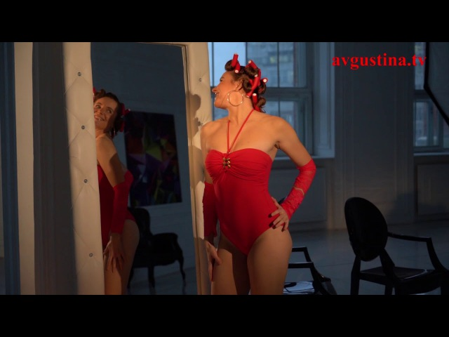 Avgustina When you come in Official teaser for Music video in Red of Avgustina Gold Collection