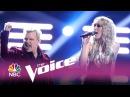 The Voice 2017 Chloe Kohanski and Billy Idol - Finale: White Wedding