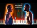 Imagine Dragons · Believer | LyricWulf Piano Tutorial on Synthesia