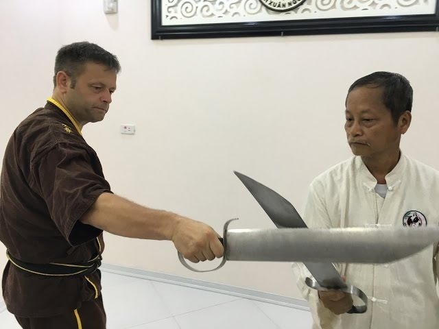 Double Knives Vietnam Weng Chun