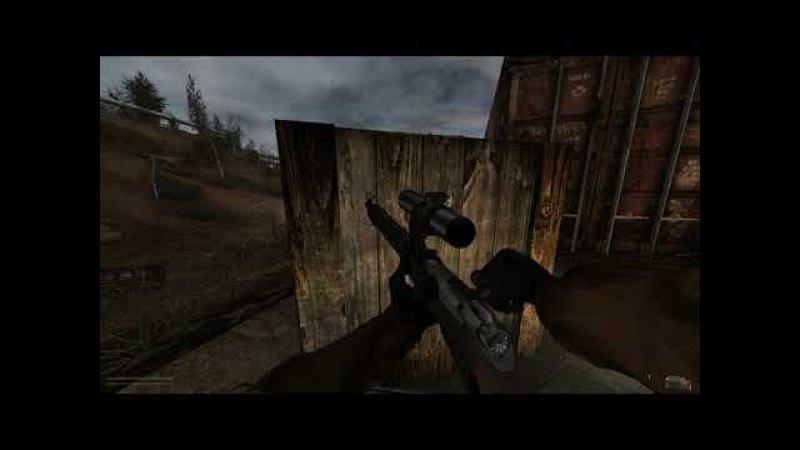 Мизери 2.2 Снайпер.Перестрелка с нпс.
