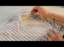 Ponto de Crochê Trancinha por Sandra Brum