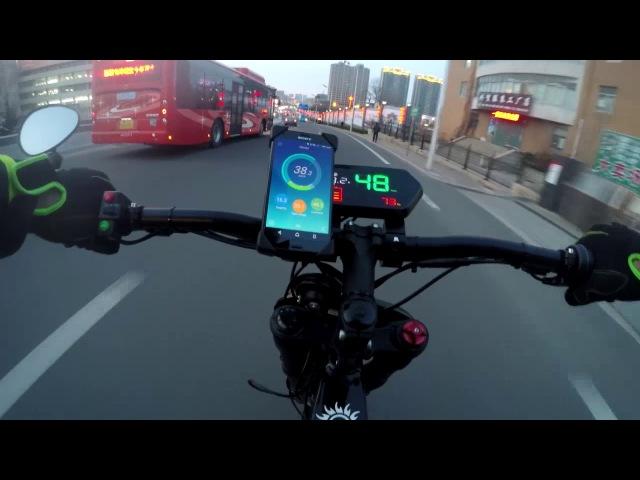 Электровелосипед BOXON MID DRIVE