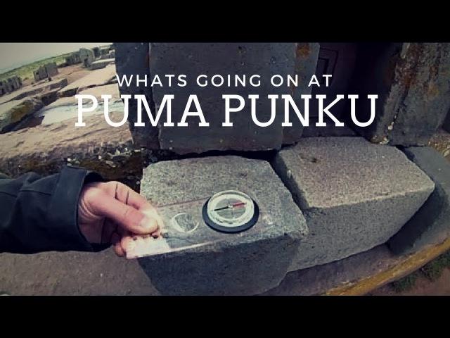Magnetic Anomalies at Puma Punku (Pumapunku)