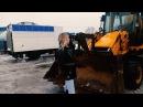 Видео обзор Колесного фронтального Экскаватора-погрузчика JCB 3CX