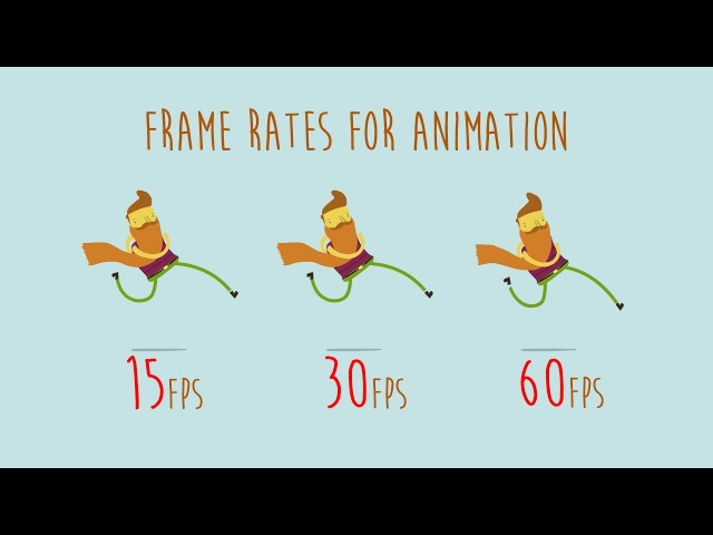 Animation frames per second