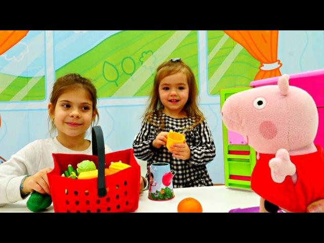 Завтрак для Свинки Пеппы. Развивающий мультик для малышей