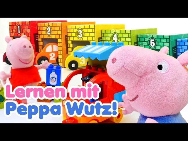 Peppa Wutz auf Deutsch 🐷 Lernen mit Peppa und Schorsch 🐽 Peppa Wutz Spielzeug Peppa Wutz Videos
