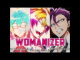 Nanbaka AMV Uno - Honey - Trois ~ Womanizer