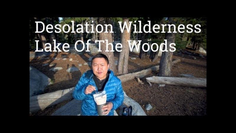 Desolation Wilderness Lake of the Woods to Lake Aloha Overnight Camping 4k