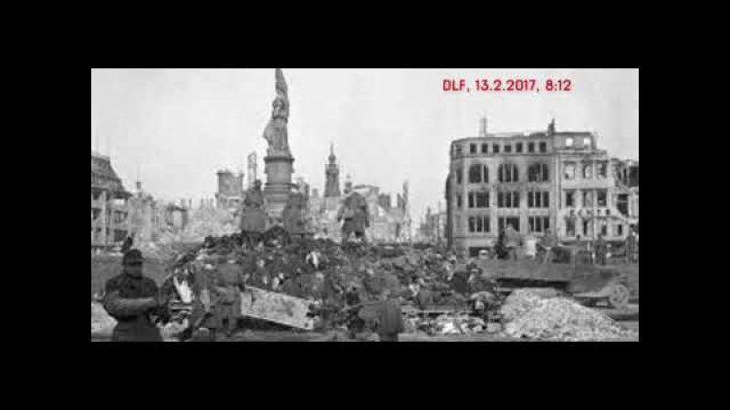 13.2.2018 - 73. Gedenktag der Zerstörung Dresdens(Audio)