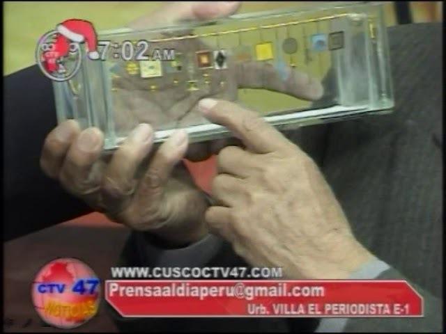 PERU - ENTREVISTA SOBRE EL IDIOMA Y ESCRITURA INCA QHAPAQ KHIPU TECSI SIMI
