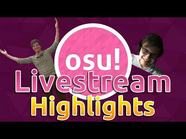 Osu! Livestream Highlights | Rafis Takes 1! HappyStick God mode! Azer 2251pp Play!?