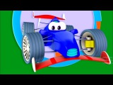 Zeem Zoom - Eğitici çizgi film - Araba yarışı! #küçük çocuklar için