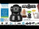 How to Set up TENVIS JPT3815W-HD 720P HD P2P WiFi Internet IP Camera With Mobile Desktop