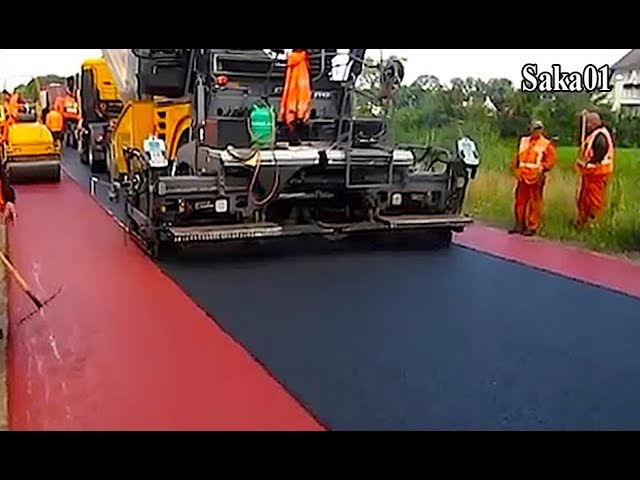 Awesome Modern Road Construction Equipment Mega Machines Technology HD720p