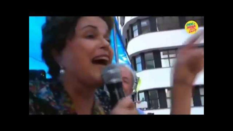 Fala da presidenta Dilma pela TV Democracia em Porto Alegre RS em 23-01-2018. INFODIGIT-PC