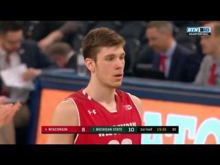 #2 Michigan State vs Wisconsin | BTN Men's Basketball Quarterfinal #1