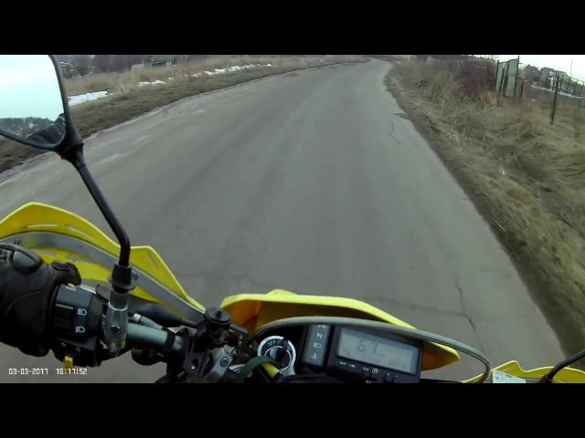 Mobius mini actioncam, test, motorcycle