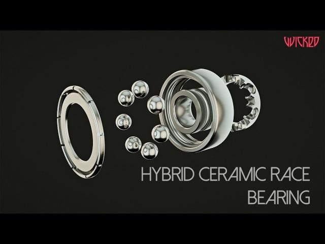 Wicked Hybrid Ceramic Race HCR bearing