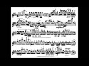 Wieniawski Henryk op 15 Variations on an original theme for violin piano
