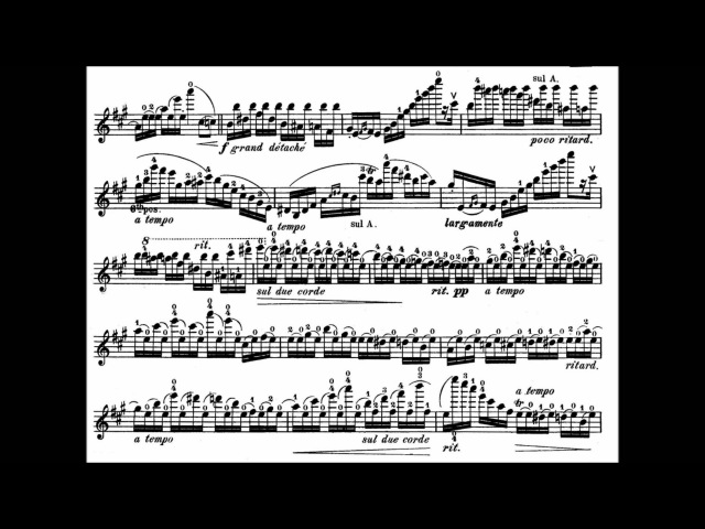 Wieniawski, Henryk op.15 Variations on an original theme for violin piano
