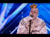 Incredible! Everyone Think He's Odd Not Until He Starts to Sing! Standing Ovation!