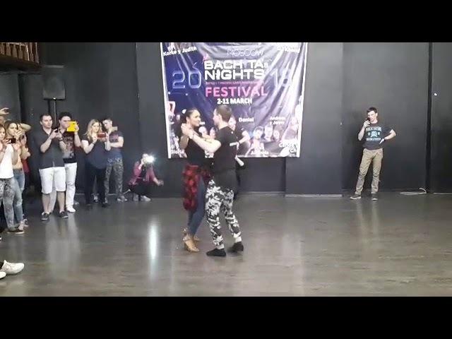 Sergey y Zorina Bachatas Nights 2018