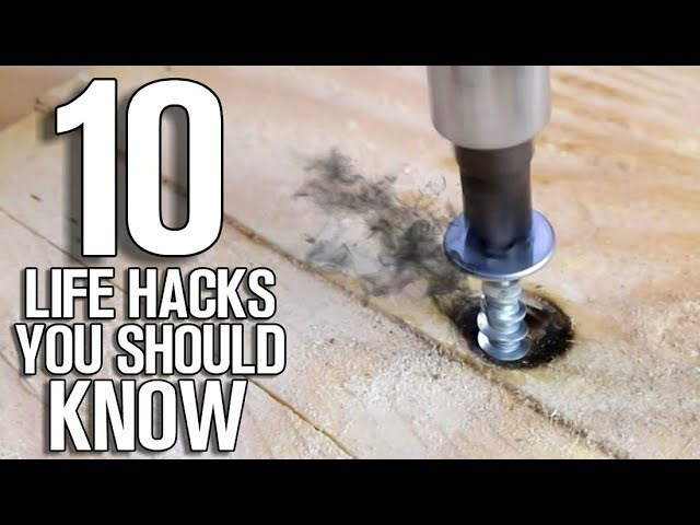 Top 10 Best Life Hacks You Should Know