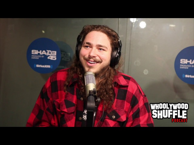 Post Malone Talks rockstar, working with Future and Dietary Trends with DJ Whoo Kid