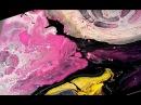 Акрил лак для ногтей. Техника жидкого акрила | Acrylic nail polish. Liquid acrylic painting