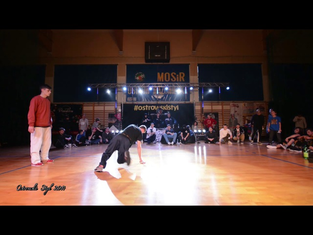 Ostrowski Styl 2017 / Bboy Mikola vs Bboy Ponton / Bboying 1vs1